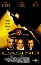 Casino - German VHS movie cover (xs thumbnail)