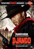 Django - Finnish DVD movie cover (xs thumbnail)