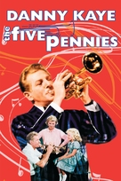 The Five Pennies - DVD cover (xs thumbnail)