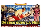 Boy on a Dolphin - Belgian Movie Poster (xs thumbnail)