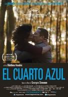 La chambre bleue - Argentinian Movie Poster (xs thumbnail)