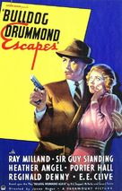Bulldog Drummond Escapes - Movie Poster (xs thumbnail)
