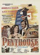 Penthouse de la muerte - Mexican Movie Poster (xs thumbnail)
