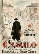 Le Petit monde de Don Camillo - Spanish Movie Poster (xs thumbnail)
