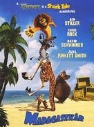 Madagascar - Hungarian DVD movie cover (xs thumbnail)