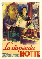 The Long Night - Italian Movie Poster (xs thumbnail)