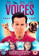The Voices - British DVD cover (xs thumbnail)