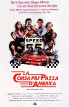 The Cannonball Run - Italian Theatrical movie poster (xs thumbnail)