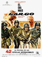 The Longest Day - Spanish Movie Poster (xs thumbnail)