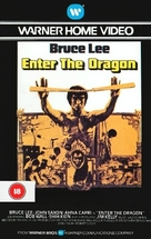 Enter The Dragon - British VHS movie cover (xs thumbnail)