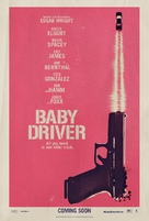 Baby Driver - British Teaser movie poster (xs thumbnail)