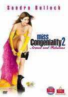 Miss Congeniality 2: Armed & Fabulous - British DVD movie cover (xs thumbnail)