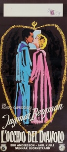 Djävulens öga - Italian Movie Poster (xs thumbnail)