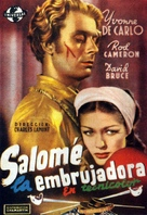 Salome Where She Danced - Spanish Movie Poster (xs thumbnail)