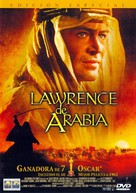 Lawrence of Arabia - Spanish DVD cover (xs thumbnail)
