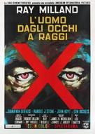 X - Italian Movie Poster (xs thumbnail)