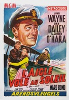 The Wings of Eagles - Belgian Movie Poster (xs thumbnail)