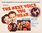The Next Voice You Hear... - Movie Poster (xs thumbnail)