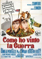 How I Won the War - Italian Movie Poster (xs thumbnail)