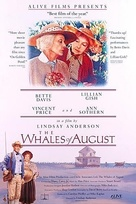 The Whales of August - Movie Poster (xs thumbnail)