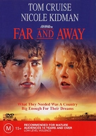 Far and Away - Australian DVD movie cover (xs thumbnail)