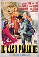 The Paradine Case - Italian Movie Poster (xs thumbnail)