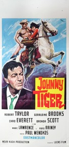 Johnny Tiger - Italian Movie Poster (xs thumbnail)