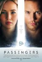 Passengers - Icelandic Movie Poster (xs thumbnail)