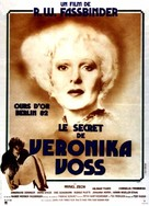 Die Sehnsucht der Veronika Voss - French Movie Poster (xs thumbnail)