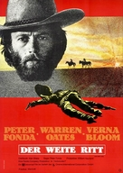 The Hired Hand - German Movie Poster (xs thumbnail)