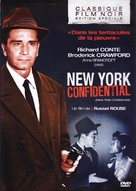 New York Confidential - French DVD cover (xs thumbnail)