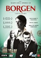 """Borgen"" - Danish DVD movie cover (xs thumbnail)"