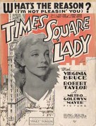 Times Square Lady - poster (xs thumbnail)