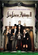 Addams Family Values - Argentinian Movie Cover (xs thumbnail)