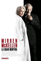 The Good Liar - Spanish Movie Poster (xs thumbnail)
