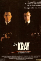 The Krays - Spanish Movie Poster (xs thumbnail)