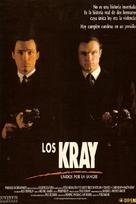 The Krays - Spanish Movie Poster (xs thumbnail)