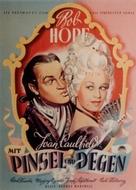 Monsieur Beaucaire - German Movie Poster (xs thumbnail)