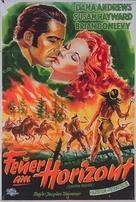 Canyon Passage - German Movie Poster (xs thumbnail)