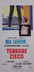 Blind Terror - Italian Movie Poster (xs thumbnail)