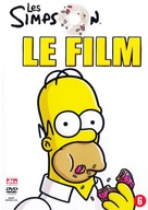 The Simpsons Movie - Belgian DVD cover (xs thumbnail)