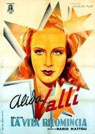 La vita ricomincia - Italian Movie Poster (xs thumbnail)