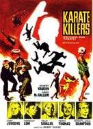 The Karate Killers - Italian Movie Poster (xs thumbnail)