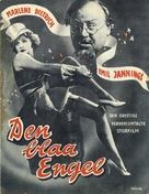 Der blaue Engel - Danish Movie Poster (xs thumbnail)