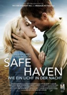 Safe Haven - German Movie Poster (xs thumbnail)