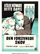 The Petrified Forest - Danish Movie Poster (xs thumbnail)