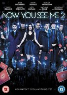 Now You See Me 2 - British DVD cover (xs thumbnail)