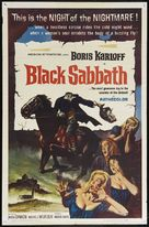 I tre volti della paura - Theatrical movie poster (xs thumbnail)