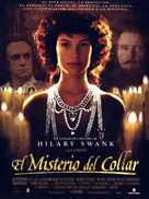 The Affair of the Necklace - Spanish Movie Poster (xs thumbnail)