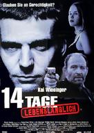 14 Tage lebenslänglich - German Movie Poster (xs thumbnail)
